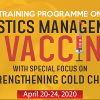 Training Programme on Logistics Management of Vaccines with special focus on Strengthening Cold chain