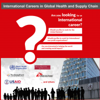 COURSE LAUNCH: International Careers in Global Health and Supply Chain