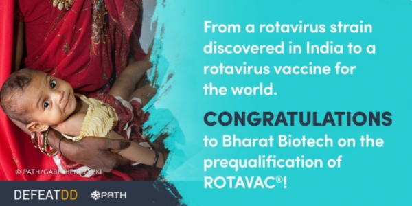 World Health Organization Grants Prequalification to Bharat Biotech's rotavirus vaccine, ROTAVAC®