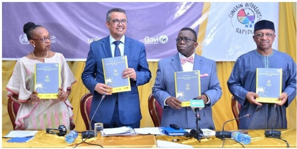 Dr Tedros, WHO Director-General, launches the EYE Strategy in Africa